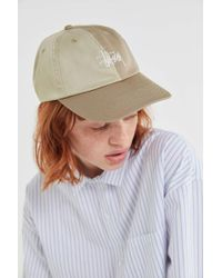 b5fcc475b7c07 Stussy - Louise Two-tone Baseball Hat - Lyst