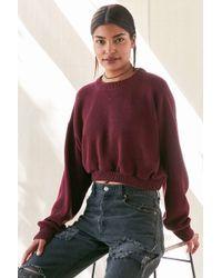 Urban Renewal - Remade Dolman Cropped Sweater - Lyst