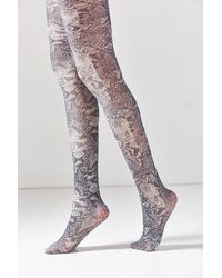 Out From Under - Python Shimmer Tight - Lyst