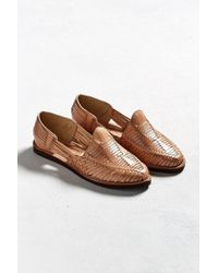 Chamula - Cancun Huarache Woven Leather Shoe - Lyst
