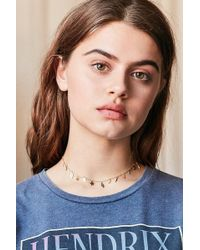 Urban Outfitters - In The Stars Icon Short Necklace - Lyst