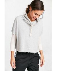 Truly Madly Deeply - Funnel Neck Swing Sweatshirt - Lyst