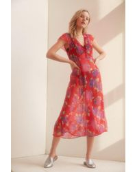 Cooperative - Space Cowgirl Midi Dress - Lyst
