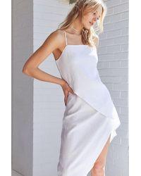 Sir. The Label - Rosa Midi Wrap Dress - Lyst