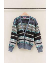 Urban Renewal - Vintage Checkered/patterned Cardigan - Lyst