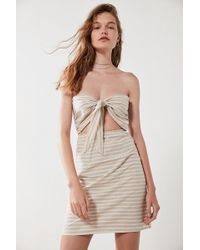 Sir. The Label - Sui Strapless Cut-out Dress - Lyst