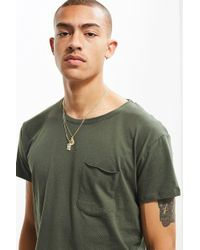 Urban Outfitters | Curved Hem Tee | Lyst