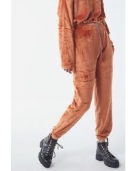 Urban Outfitters - Uo Angela Soft Fleece Jogger Pant - Lyst