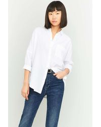 0124d156 BDG - Slouchy Dolman Sleeve Button-down Shirt - Womens L - Lyst