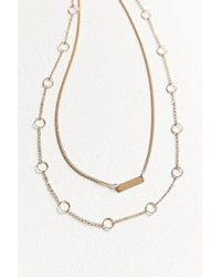 Urban Outfitters | Luxe Layering Necklace Set | Lyst