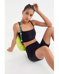 Motel - Kylie Corduroy Cropped Top - Lyst