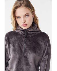 4439927f7 Urban Outfitters - Uo Angela Soft Fleece Pullover Sweatshirt - Lyst