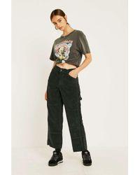 BDG - Green Corduroy Carpenter Trousers - Womens M - Lyst