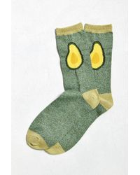 Urban Outfitters - Avocado Halves Sock - Lyst
