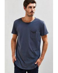 Urban Outfitters - Curved Hem Tee - Lyst