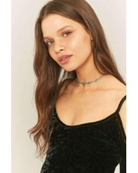 Urban Outfitters - Triangle Drop Choker Necklace - Lyst