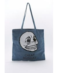 Cheap Monday - Rapid Denim Tote Bag - Lyst
