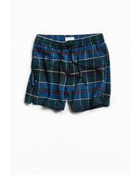 Urban Outfitters - Uo Plaid Flannel Volley Short - Lyst