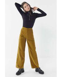 BDG - Ciara Corduroy Cropped Carpenter Pant - Lyst