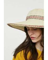 Urban Outfitters - Festival Straw Floppy Hat - Lyst