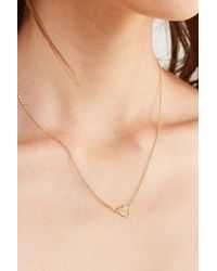 Urban Outfitters | Simple Heart Charm Necklace | Lyst