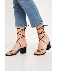 fb7aae5e750 Urban Outfitters - Uo Ana Strappy Heeled Sandal - Lyst