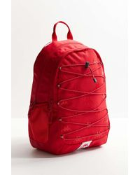 1cdfeac6ef7f Kappa - The Prmium Backpack In Dark Red And White - Lyst