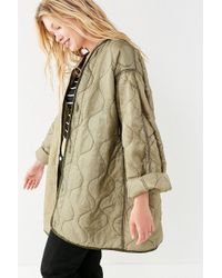 Urban Outfitters - Vintage Lightweight Quilted Liner Jacket - Lyst