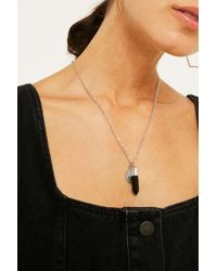 Urban Outfitters - Semi-precious Stone + Charm Necklace - Womens All - Lyst