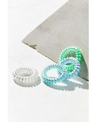Urban Outfitters - Telephone Cord Hair Tie Set - Lyst