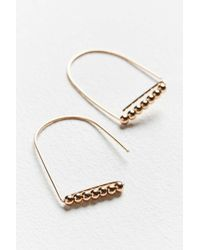 Urban Outfitters - Raina Delicate Wire Drop Earring - Lyst