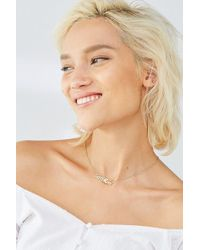 Urban Outfitters - Love More Nameplate Necklace - Lyst