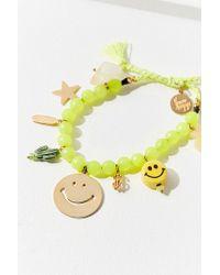 brand Venessa Arizaga - Venessa Arizaga Happy Weekend Bracelet - Lyst