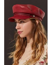 edcf2b07c89bd Urban Outfitters · Brixton - Uo Exclusive Fiddler Faux Leather Fisherman Hat  - Lyst