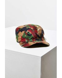 Urban Renewal - Vintage Camo Cadet Hat - Lyst