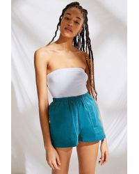 Urban Outfitters - Urban Renewal Remnants Patch Pockets Corduroy Short - Lyst