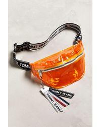 Tommy Hilfiger - Logo Tape Sling Bag - Lyst