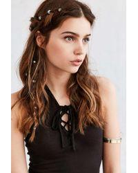 Regal Rose - Engraved Hair Charm Set - Lyst