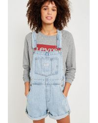 Levi's - Vintage Wash Shortall Dungarees - Lyst