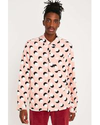 Urban Outfitters - Uo Rayon Long-sleeve T-shirt - Lyst