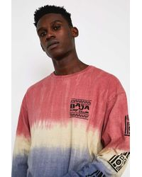 Urban Outfitters - Uo Baja Ombre Long-sleeve T-shirt - Mens S - Lyst
