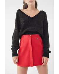 Urban Renewal - Remnants Twill Utility Mini Skirt - Lyst
