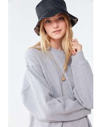 eaa352fd Urban Outfitters Kyoto Champions Overdyed Sweatshirt in Natural - Lyst