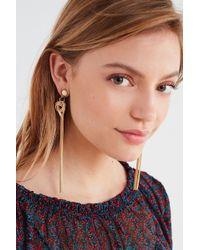 Urban Outfitters - Easley Fringe Drop Earring - Lyst