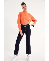 BDG - She's The One Cropped Kick Jean - Lyst