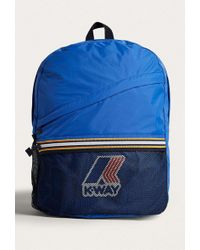 K-Way - Blue Packable Backpack - Womens All - Lyst
