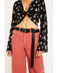 Urban Outfitters - Adjustable Buckle Nylon Belt - Lyst