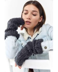 Urban Outfitters - Boucle Fingerless Glove - Lyst