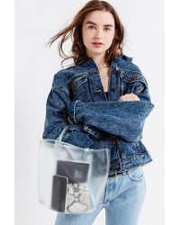 Urban Outfitters - Clear Mini Tote Bag - Lyst