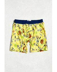 Urban Outfitters - Rick And Morty Boxer Brief - Lyst